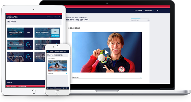 USA Swimming Website